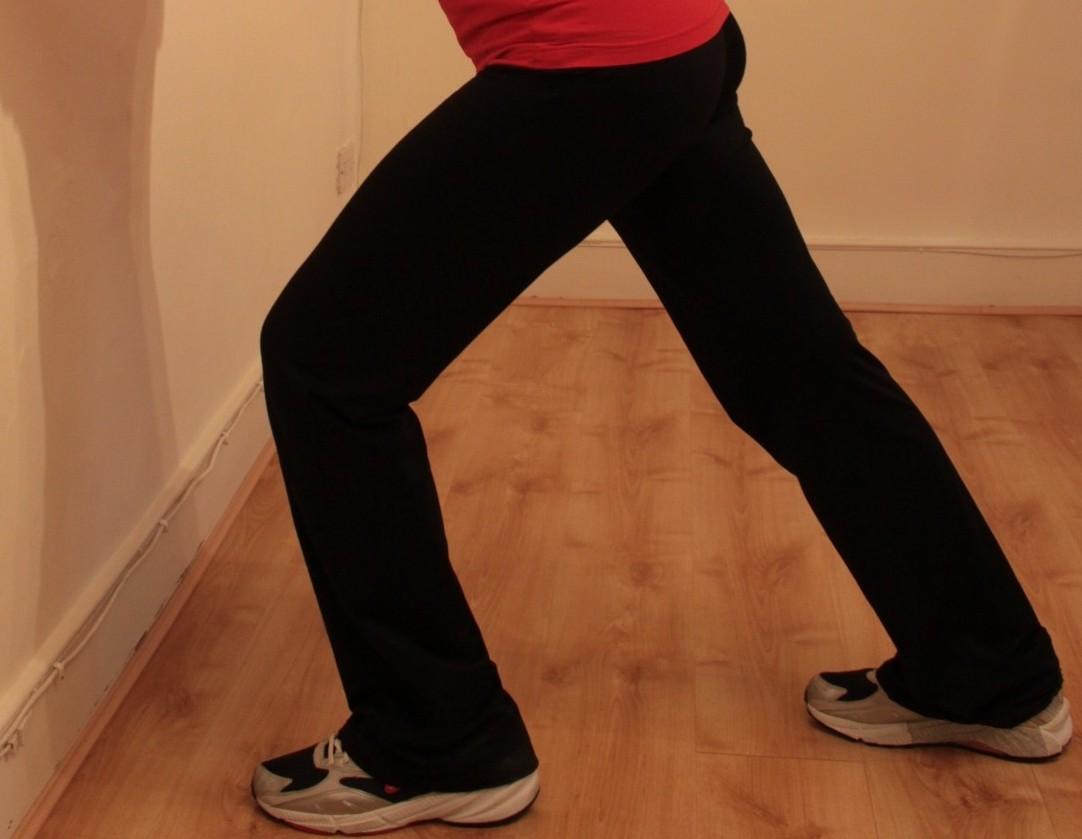 Calf stretch, standing