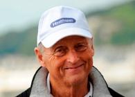 Roger Allsopp swims the Channel at 70